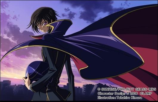 コードギアスアニメのイメージ画像